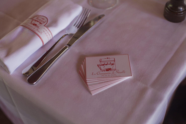 Les cartes - restaurant La Guinguette